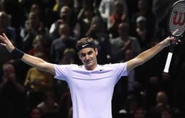 """Bán kết Indian Wells 2018: Không thể ngăn nổi """"Tàu tốc hành"""" Federer"""