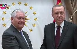 Mỹ - Thổ Nhĩ Kỳ tìm cách thu hẹp bất đồng về Syria
