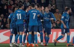 Kết quả bóng đá châu Âu rạng sáng ngày 19/02: Real Madrid thắng kịch tính