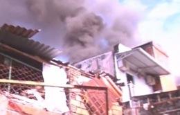 Cháy lớn tại TP. Vĩnh Long, một cửa hàng bị thiêu rụi