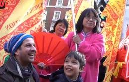 Tết của người châu Á ở London