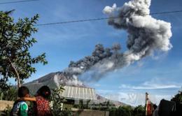 Indonesia: Núi lửa Sinabung phun tro cao 5.000 mét