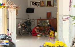 Vui Tết trên vùng sạt lở Vàm Nao