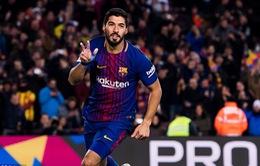 Barcelona giành chiến thắng tối thiểu trước Valencia ở bán kết lượt đi Cúp Nhà vua