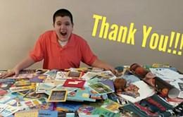 Cậu bé tự kỷ nhận được 1.500 tấm thiệp sinh nhật