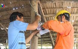 Hậu Giang đưa điện lưới quốc gia về vùng khó khăn
