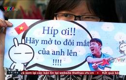 ĐT U23 Việt Nam giao lưu tại TP Hồ Chí Minh