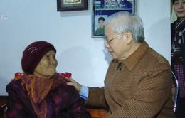 Tổng Bí thư thăm hỏi nhân dân tỉnh Thái Bình