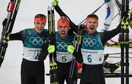 Bảng tổng sắp huy chương Olympic PyeongChang ngày 20/2: Đoàn thể thao Đức áp sát Na Uy