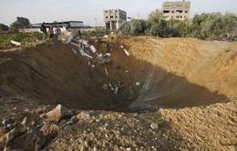 Israel không kích các mục tiêu của Hamas trên Dải Gaza