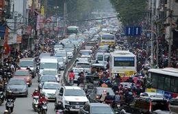Tuyến xe bus chồng chéo, nhiều phố ở Hà Nội ùn tắc