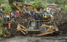 Sạt lở bãi rác ở Mozambique, hàng chục người thương vong