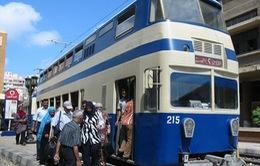 Sức sống mới cho những chuyến xe điện của quá khứ tại Ai Cập