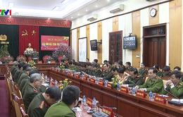 Lực lượng công an đảm bảo an toàn trật tự dịp Tết Nguyên đán