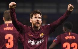 """Messi """"phá dớp"""" lịch sử trước Chelsea"""