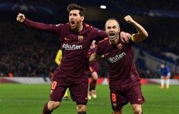Kết quả Champions League rạng sáng 21/02: Barcelona giành lợi thế trước Chelsea, Bayern Munich thắng dễ Besiktas