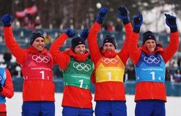 Bảng tổng sắp huy chương Olympic PyeongChang ngày 21/2: Đoàn thể thao Na Uy bứt phá