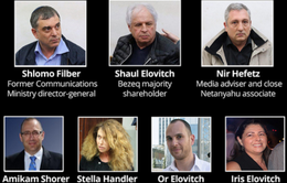 Hai phụ tá thân cận của Thủ tướng Israel bị bắt vì bê bối tham nhũng