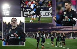 Ngược dòng thắng Leganes, Real Madrid còn kém Barcelona 14 điểm