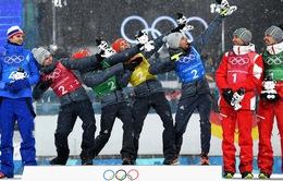 Olympic PyeongChang 2018 ngày thi đấu 22/2: Đoàn thể thao Na Uy tiếp tục dẫn đầu, Đức duy trì vị trí thứ 2
