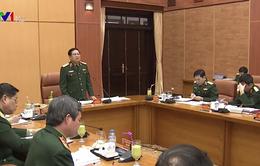 Đại tướng Ngô Xuân Lịch làm việc với Tổng cục Chính trị Quân đội nhân dân Việt Nam