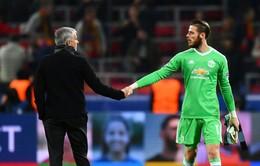 Mourinho nóng lòng về tương lai của De Gea