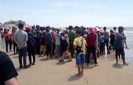 Nhóm sư cô tắm biển Long Hải, 1 người chết, 1 người mất tích