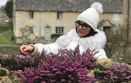 Ngọc Hân xinh tươi tại Bibury - ngôi làng cổ tích giữa đời thực ở Anh