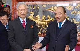 Thủ tướng mừng thọ Trung tướng Đặng Quân Thụy