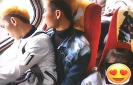 2 lao động Việt nhường ghế cho trẻ em Đài Loan gây xúc động