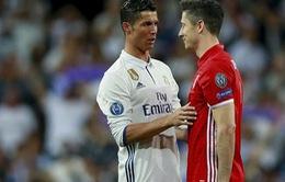 Chuyển nhượng bóng đá quốc tế ngày 24/2: Real Madrid liên hệ với Lewandowski