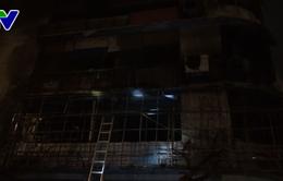 Quảng Bình: Cháy lớn thiêu rụi văn phòng giao dịch của một ngân hàng