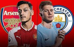 TRỰC TIẾP BÓNG ĐÁ, Arsenal 0-0 Man City, Chung kết Cúp Liên đoàn Anh: Hiệp một