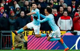 Arsenal 0-3 Man City: Thắng thuyết phục, Man City vô địch Cúp Liên đoàn Anh