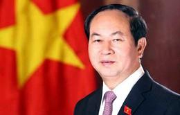 Việt Nam gửi điện mừng nhân dịp Quốc khánh Liên bang Nga