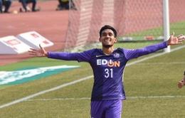 Ghi bàn và xuất sắc nhất trận, Teerasil Dangda ra mắt hoàn hảo tại J.League