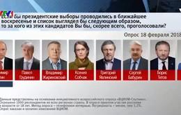 Bầu cử Tổng thống Nga: Ông Putin không trực tiếp tranh luận trên truyền hình