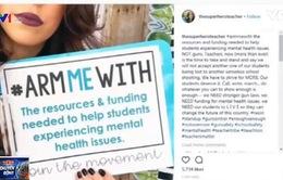 #ARMMEWITH – Chiến dịch phản đối giáo viên mang súng tại Mỹ