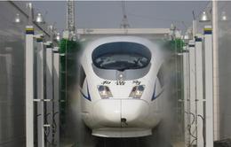 """""""Nhà tắm"""" dành cho tàu cao tốc tại Trung Quốc"""