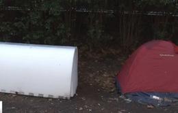 """Pháp: Thiết kế """"hộp ngủ"""" cho người vô gia cư"""
