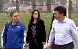 FIFA khởi động dự án thí điểm phát triền bóng đá nữ tại Việt Nam
