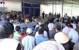 Đà Nẵng: Hai ngày đối thoại vẫn chưa có hướng xử lý ô nhiễm do nhà máy thép