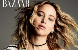 Jennifer Lawrence nồng nàn trên ấn phẩm mới của Harper's Bazaar