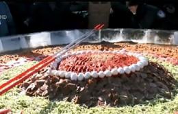 Bát mỳ lạnh có đường kính 4m tại Trung Quốc