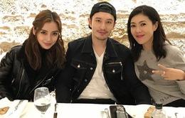 Angelababy đón sinh nhật bên Huỳnh Hiểu Minh tại Pháp