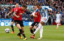 Vòng 26 Ngoại hạng Anh, Man Utd - Huddersfield: Tìm lại niềm vui chiến thắng (22h00, 03/02)