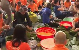 TP.HCM gói 2.000 bánh chưng cho người vô gia cư