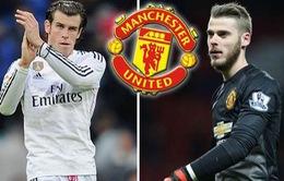 Chuyển nhượng bóng đá quốc tế ngày 03/02/2018: Mourinho nói MU chỉ để De Gea đến Real khi Bale về Old Trafford
