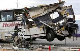 Tai nạn xe bus thảm khốc tại Argentina