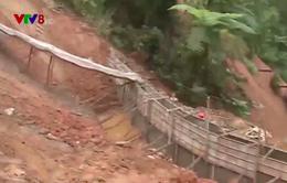 Quảng Nam: Quốc lộ 40B đi Kon Tum hư hỏng nghiêm trọng